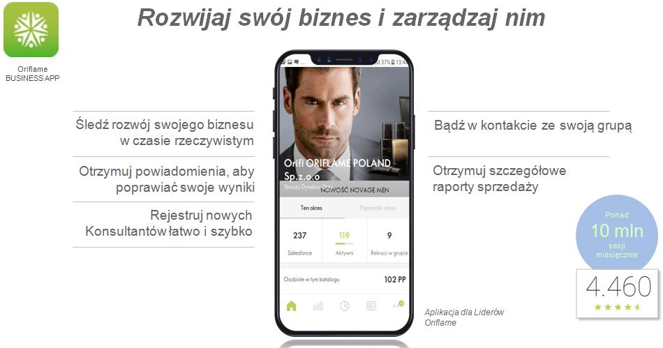 Aplikacja Business App