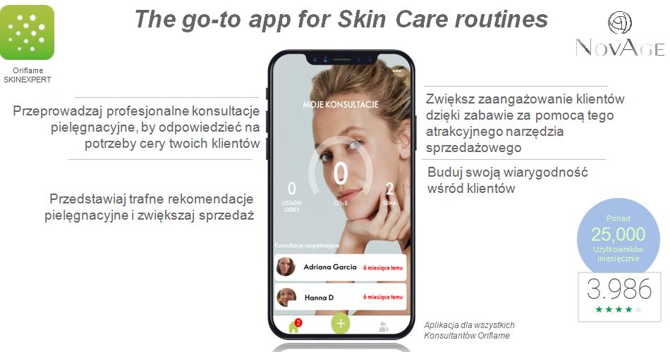 Aplikacja SkinExpert Oriflame