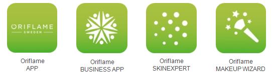 Wszystkie aplikacje Oriflame na telefon