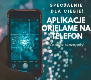 Aplikacje na telefon z Oriflame