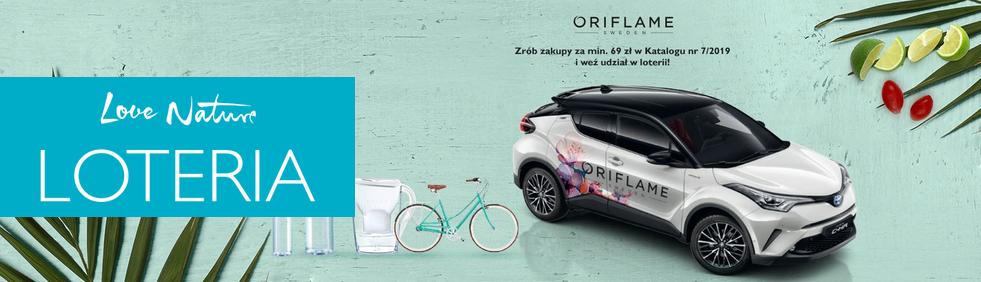 Loteria Oriflame katalog 7 2019